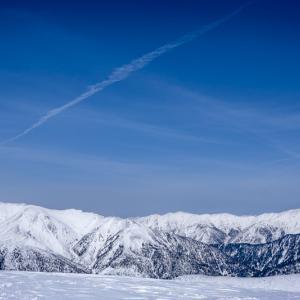残雪日帰り北アルプス 北ノ俣岳