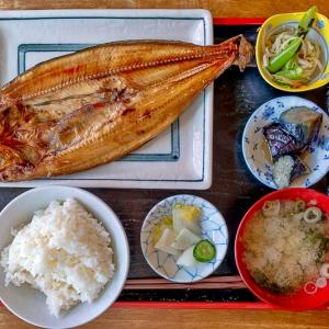 今日の旅ごはん 札幌焼き魚定食