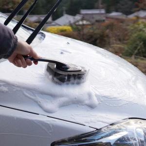 悲しいかな車を洗うと必ず雨が降る😿