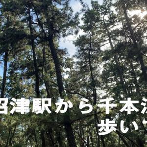 沼津駅から千本浜まで歩いてみた