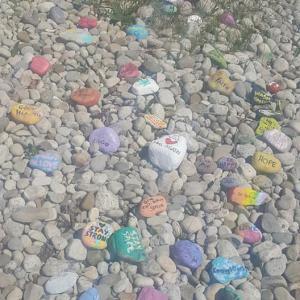 魔法の石。