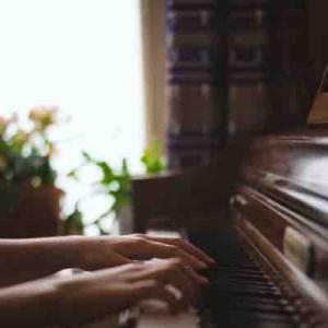 毎日2時間以上練習しないと伺ってはいけない!と決めていた音大時代の恩師のレッスン