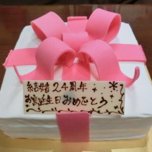 記念日ケーキ 2019