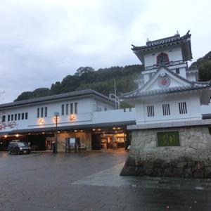 現代のからくり時計 人吉駅 熊本県人吉市