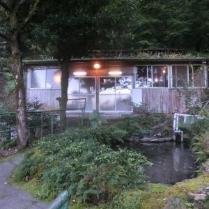 2つの足元自噴湯をも湯川内温泉 かじか荘