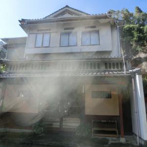 初訪問の日奈久温泉 旅館幸ヶ丘