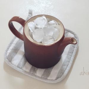 氷出し緑茶。