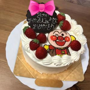 孫ッチ3歳のお誕生日