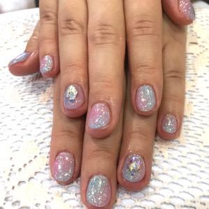 ピンク&水色(^^)
