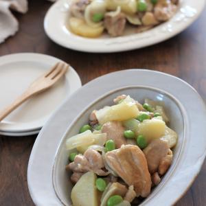 鶏とじゃがいものシンプル煮