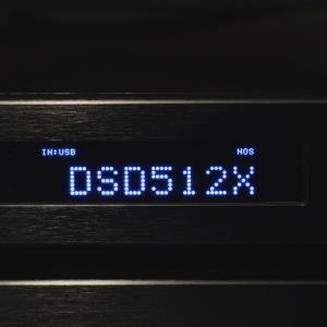 デジタルフィルターとDSD512再生