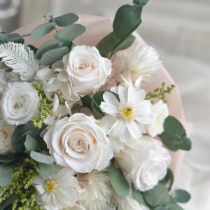 花束の制作