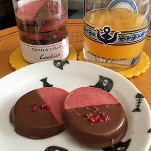 おしゃれなチョコラズベリークッキー!!