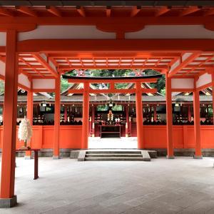 京都:吉田神社、竹中稲荷神社と竹劔稲荷神社