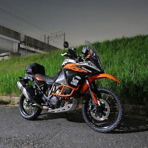 明日からいよいよDOA!KTM 1050 ADVENTURE 出撃準備完了!^_^
