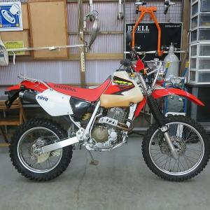 XRの中でも完成度が高い!HONDA XR400R TouringSpecial 入荷!