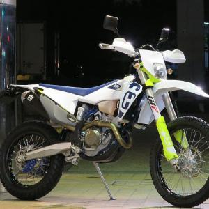 USED Husqvarna FE250 2020 Touring仕様入荷しました。