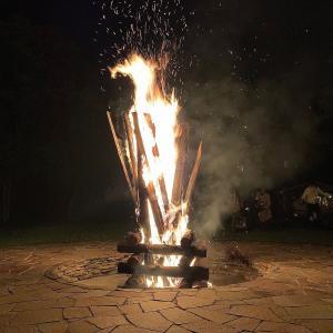 焚き火がしたい!と考えていたら、意外とチャンスが回って来る。不思議だけど嬉しい!