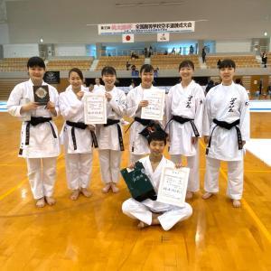 女子団体組手・男女個人組手で3位  33th回桃太郎杯1年生大会