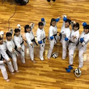 中学女子団体組手で優勝・3位 8th和歌山ビッグホエール大会