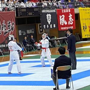 7種目で全国センバツ出場権獲得!!   39th近畿高等学校空手道大会