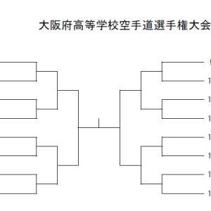 R3インターハイ大阪府予選 抽選会