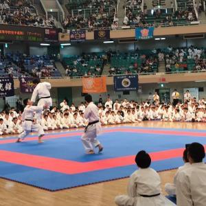 全日本少年少女武道錬成大会で演武