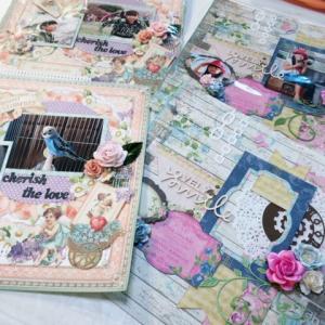 スクラップブッキング、夏休み企画の二日目開催!!