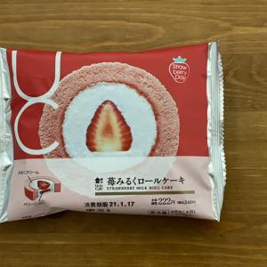 苺ミルクロールケーキ