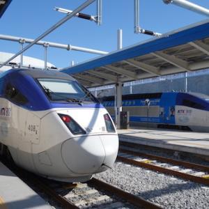 鉄道で旅する韓国