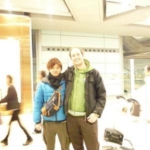 空港での出会い。。。