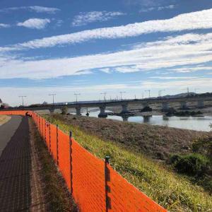 日野橋の工事