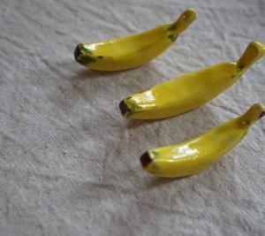 バナナと赤カブの箸置き