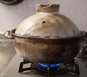 土鍋でおいしくできました♪
