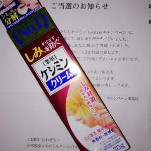 小林製薬「ケシミンクリーム」当選