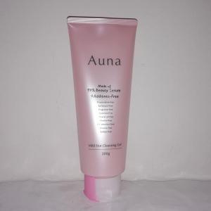 99%美容液、9つの無添加の温感タイプ「Auna(アウナ) マイルドホットクレンジングジェル」