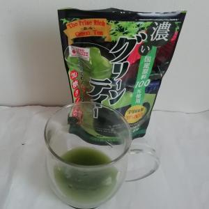 新茶の季節に抹茶味がおいしい「濃いグリーンティー」