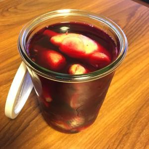紅生姜と生姜の甘酢漬け、できました