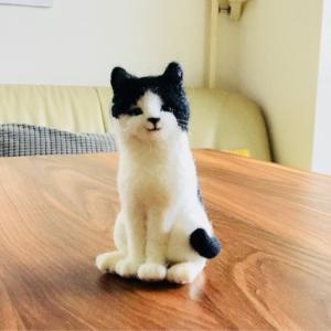 続 羊毛フェルトで猫ちゃん