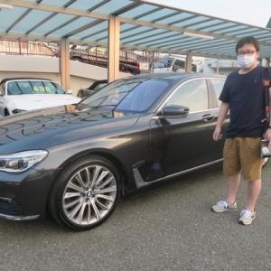 BMW740i 納車