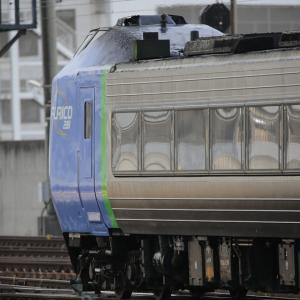 11月4日 札幌駅で281系を撮る その3