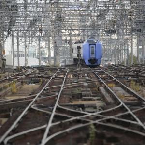 11月4日 札幌駅で281系を撮る おまけ