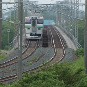 6月12日 夕張川鉄橋