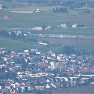 6月19日 比布スキー場俯瞰