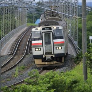 7月10日 夕張川鉄橋
