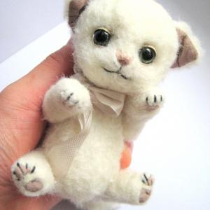 白猫テディたち