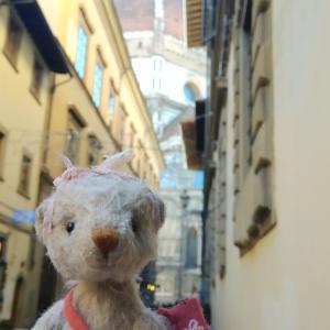 イタリア フィレンツェを訪れたベアたち
