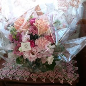 お花が届きました  I've got flowers