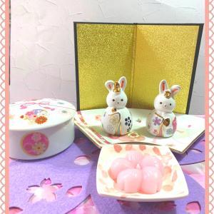 ポーセラーツ〜兎のお雛様〜