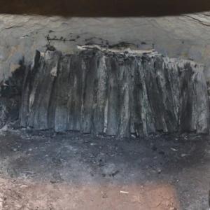 炭焼き体験をしたよ